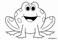 frog coloring page coloring page