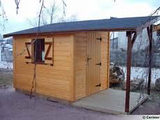 plan cabanon de jardin construction abri de jardin terrasse en bois
