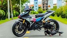 Mx King Modif Touring by Tiru Konsep Motor Motogp Yamaha Mx King Jadi Ganteng