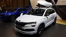 Skoda Karoq Motoren - 2020 skoda karoq sportline 2 0 tsi 190 dsg7 exterior and