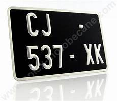 Kit Plaque Immatriculation 210x130mm Pour Cyclos