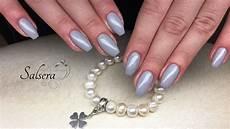 fullcover nails nageldesign gelnails ballerina nails grau