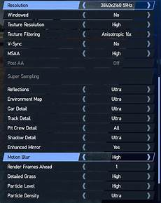 setup project cars 2 project cars 2 pc performance review graphical options