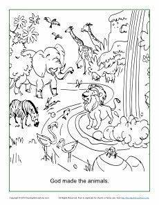 bible animals coloring pages 16909 god made the animals coloring page creation coloring pages animal coloring pages sunday