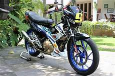 Modif Satria Fu Road Race Style by 50 Gambar Modifikasi Motor Satria Fu Style Road Race
