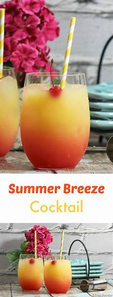 summer breeze cocktail recipe mom foodie