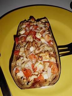 Gefüllte Aubergine Vegetarisch - gef 252 llte auberginen vegetarisch rezept mit bild