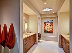 Master Bathroom Artwork by Contemporary Master Bathroom With Colorful Artwork Hgtv