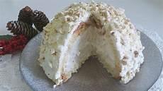 zuccotto con crema pasticcera zuccotto di pandoro con crema al torrone senza cottura youtube