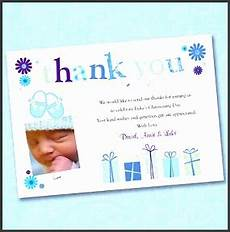 thank you card bautism template word 9 thank you card template for christening