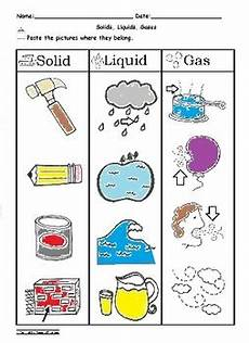 identifying states of gas matter worksheet solid liquid and gas sorting worksheet science by abc
