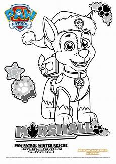 Malvorlagen Paw Patrol In Bilder Zum Ausmalen Paw Patrol Coloring Pages For