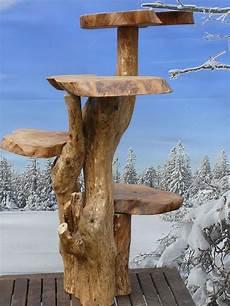 Handarbeit Baumstamm Wurzel Kaffeebaum Katzenbaum