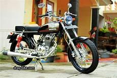 Modif Motor Cb 100 by 50 Foto Gambar Modifikasi Honda Cb 100 Klasik Style