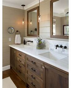 Bathroom Ideas Brown Cabinets by 25 Best Ideas About Wood Bathroom On