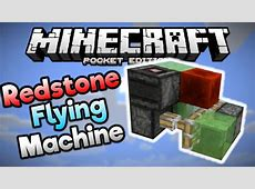 minecraft how to make a moving machine