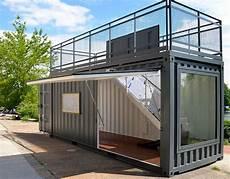 häuser aus container ecco showroom container manufaktur berlin in 2019