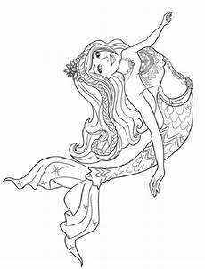 princess mermaid coloring pages sirena para