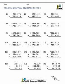 decimals rounding worksheets 7269 math worksheets for fifth grade adding decimals