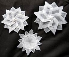 schneeflocken snowflakes origami origami