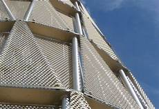 perforated sheet metal panel holes unmc tower zahner perforated sheet pinterest
