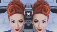hair pin up on a perfect pinup hair tutorial youtube