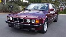 Bmw 750i E32 - bmw 740il e32 e38 v8 750il 740i 1 owner 52 000 original
