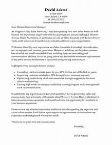 best customer service sales associate cover letter exles livecareer