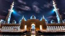 Abu Dhabi Mosque Hd Wallpaper