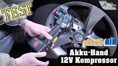 tech test akku 12v kompressor plenti air