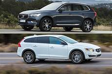 2018 volvo xc60 or 2017 volvo v60 cross country motor trend