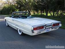 1964 Ford Thunderbird Convertible Wimbledon White