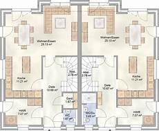 Moderne Doppelhäuser Grundrisse - duo 112 das doppelhaus mit je 112 qm grundriss