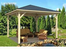 holz gartenpavillon pavillon aus selber bauen bauanleitung