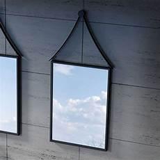 Miroir Avec Cadre Noir Pour Salle De Bain Miroir Avec