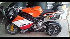 blata repsol racing pocket bike walk around