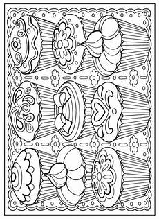 free coloring pages for adults 16671 creative designer desserts coloring book dover publications colouring