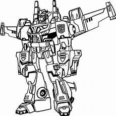 Kumpulan Gambar Robot Transformer Untuk Mewarnai Anak Paud