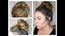 Bun Anleitung - bun topknot tutorial how to get a big bun with