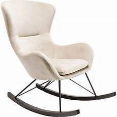 Fauteuil 224 Bascule Contemporain Beige Oslo Kare Design