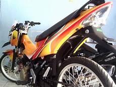 Modifikasi Motor Satria Fu Terbaru by Gambar Modifikasi Motor Suzuki Satria Fu Terbaru 2015