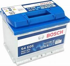 Autobatterie 60 Ah - 0092s4e050 batteria auto bosch s4 e05 60 ah 12v 560a en