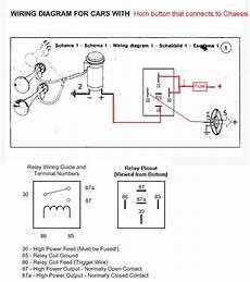 relay wiring diagram for air horns wiring an air horn good electricians advice appreciated electrical instruments by