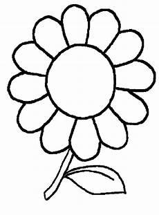 Malvorlagen Blumen Einfach Blume Zum Ausmalen Carsmalvorlage Store