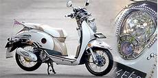 Motor Scoopy Modif by Modif Motor Modifikasi Retro Honda Scoopy