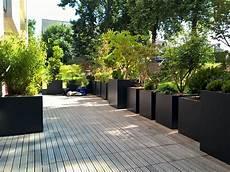 bac pour arbuste de jardin bacs 224 plantes pour am 233 nager une terrasse bac