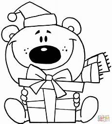 Ausmalbilder Weihnachten Teddy Teddy Drawing At Getdrawings Free
