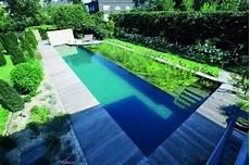 Naturpool Oder Schwimmteich Mit Biologischer Natuerlicher