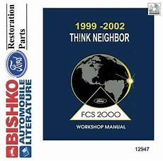 automotive service manuals 2002 ford th nk navigation system 1999 2002 ford th nk neighbor shop service repair manual cd ebay