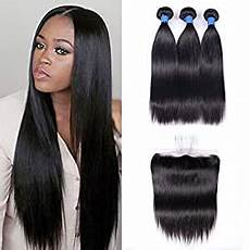 Amazon Com 3 Part Lace Closure Straight With Amazon Com Ucrown Brazilian Lace Frontal Closure With 3